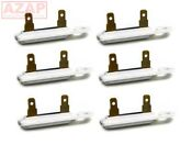 Wp3392519 3392519 Dryer Thermal Fuse Ap6008325 Ps11741460 6 Pack For Whirlpool