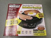 Nuwave 2 Piece Precision Portable Induction Cooktop With 9 Ceramic Pan