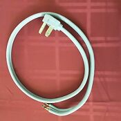 Dryer Electric Cord 3 Prong Plug 220 Appliance Power Wire 4 Foot Cord