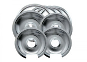 Electric Stove Drip Pans B Series For Ge Hotpoint Burner 3 X 6 1 X 8 Chrome