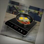 Cosmo 1800w Portable Induction Cooktop Countertop Burner For Dorms Boats Patio