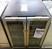 Danby Dbc2760bls French Door 60 Can 27 Bottle Bev Center Dual Zone Cooler