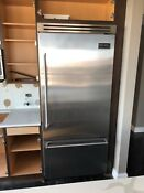 Viking Vcbb536rss 36 Professional Built In Refrigerator Freezer Stainless