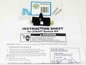 W10820036 Washing Machine And Dryer Lid Door Switch For Whirlpool Kenmore