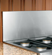 Ge Monogram Professional Zxc12b48wss 12 Backguard For 48 Cooktop