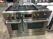 Jenn Air 48 Pro Style Stainless Steel Dual Fuel Range Jdrp548wp 9999