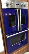 Viking 30 Cobalt Blue Electric Double French Door Oven Vdof730cb 8550