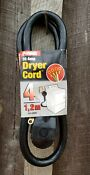 4 Wire Prong Dryer Cord Prime 4 Ft Foot Feet 10 4 30 Amp A