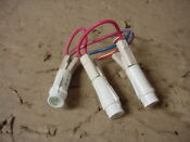 Speed Queen Commercial Washer Indicator Light Lot Of 3 Part 801431
