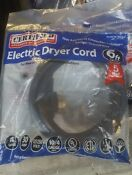 Certified Appliance 4 Wire Dryer Cord 30 Amps 90 2024 6ft Lot Of 3
