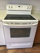 Kenmore Electric Range Oven Stove Cooktop White