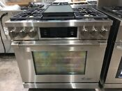 Dacor Discovery Iq Dyrp36ds Ng 36 Dual Fuel Range Oven 9500 Natural Gas