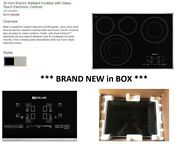 Jenn Air 30 Electric Radiant Cooktop With Glass Touch Electronic Controls