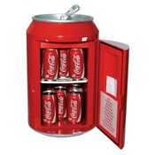 Coca Cola Retro Can Refrigerator Mini Fridge Cooler 12 Cans Capacity