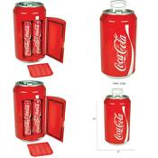 Coca Cola Personal 8 Can Portable Mini Fridge Red