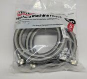 2 72 Certified Appliance Wm72ss Braided Stainless Steel Washing Machine Hoses