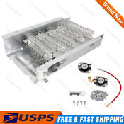 Dryer Heating Element For Whirlpool Kenmore Maytag Thermostat Kit Fuse 3403585