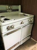 Vintage Hardwick Gas Oven Stove Kitchen Appliance 1940s 50 S Used Made In Usa