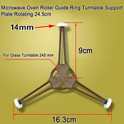 Microwave Oven Roller Guide Ring Turntable Support Plate Rotating 24 5cm Oz
