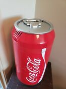 Coca Cola Mini 8 Can Fridge Can Shaped Thermoelectric Cooler 12vdc 110vac
