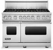 Viking Professional 7 Series Vgr7488bsslp 48 Inch Pro Style Gas Range Images