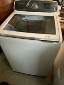 Samsung Washer And Electric Dryer White Wa52m7750aw And Dve52m7750w