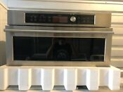 Ge Monogram Zsc1201jss 30 Stainless Single Electric Wall Oven