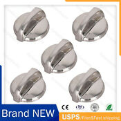 5x Range Surface Burner Knobs Fits For General Electric Hotpoint Wb03t10284 Us