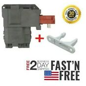 Front Loader Door Latch For Frigidaire Affinity Washer Atf7000eso Atf6000fs0