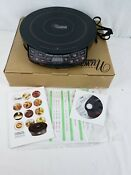 New Nuwave Precision Induction Cooktop Model 30101 Open Box