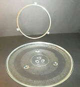 Replacement Part Microwave Oven Plate Clear Glass 12 3 8 Turntable
