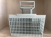 Vintage Dishwasher Blue Silverware Basket Replacement Square 6 Compartments