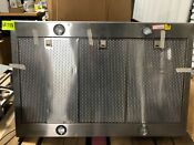 Thermador 42 Stainless Island Chimney Range Hood Hpib42hs