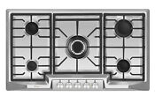 Empava 36 Cooktop 5 Burners Stainless Steel Propane Gas Convertible Stove Gc881