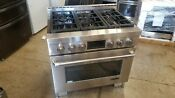Jenn Air Jgrp436wp 36 Inch Gas Freestanding Range