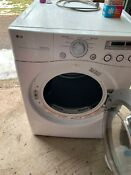 Gas Dryer Lg Brand Full Capacity Front Loading Width 27 Height 51 D 29