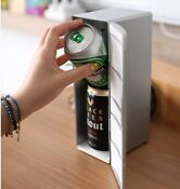 Usb Mini Hot And Cold Warmer Refrigerator Dual Cans Cooler Car Beverage Drink