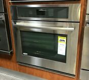 Jenn Air Jjw2330ws 30 Stainless Single Electric Wall Oven