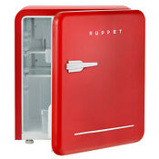 1 6 Cu Ft Retro Mini Fridge Compact Refrigerator Freezer Classic Dorm Office Red