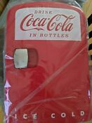 Retro Mini Fridge Rv Camping Coca Cola Refrigerator With Box Capacity 6 Cans