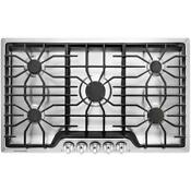 Frigidaire 36 In Gas Cooktop In Stainless Steel With 5 Burners
