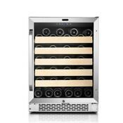 Whynter Bwr 541sts 24 Built In 54 Bottle Wine Refrigerator Cooler Stainless