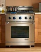 Dacor Renaissance 30 4 Sealed Burners Pro Style Gas Range Er30gschng Stainless