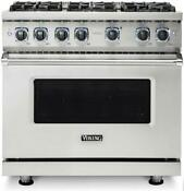 Viking 7 Series Vgr73626bss 36 Inch Sealed Burner Gas Range