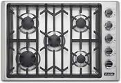 Viking Vgsu53015bss 30 Inch Professional 5 Series Gas Cooktop With 5 Burners