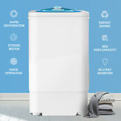 17 6 Lbs Compact Spinner Mini Dryer Draining Laundry Home Dorms 1500 Rpm White