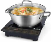 Duxtop 8100mc 1800w Portable Induction Cooktop Countertop Burner Included 5 7 Q