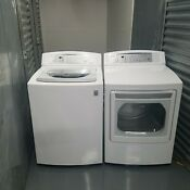 Lg Washer Dryer Electric Set