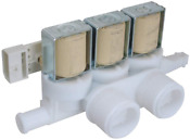 Edgewater Parts Wh13x10025 Water Valve Compatible With Ge Washer Washing Machine