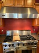 Viking 54 Wall Mount Under Cabinet Range Hood